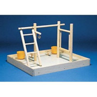 North American Pet Bob keet playpen with cups