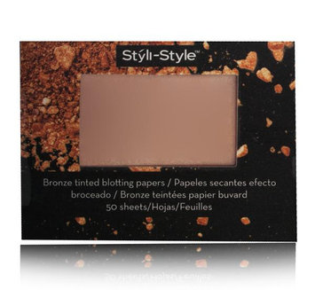 Styli Style Styli-Style Bronze Tinted Blotting Papers Radiant
