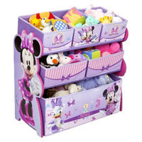 Disney MINNIE MOUSE MULTI-BIN TOY ORGANIZER