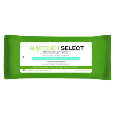 Medline AloeTouch Fragrance-Free Wipes
