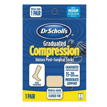 Dr. Scholl's Moderate Graduated Compression Post-Surgical Sock Medium