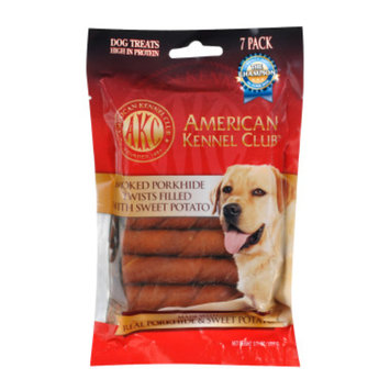 American Kennel Club Porkhide & Sweet Potato Twists, 3.7 oz
