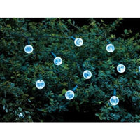 30Lt Solar Globe String Lights - Room Essentials™