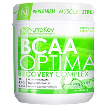 Nutrakey BCAA Optima Green Apple - 30 servings