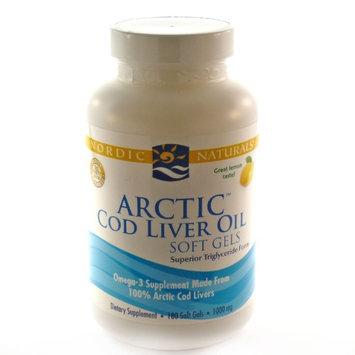 Nordic Naturals Arctic Cod Liver Oil Soft Gels 1000 mg 180 ct