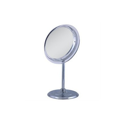 Zadro Single sided surround light pedestal vanity mirror 7X magnification