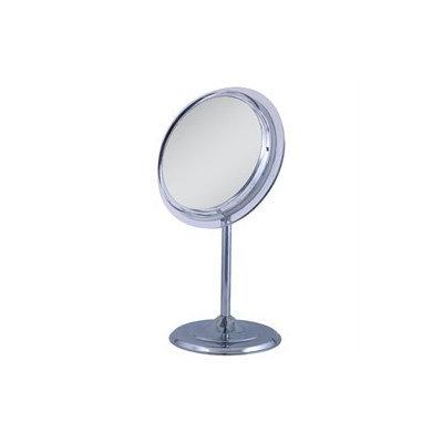 Zadro Single sided surround light pedestal vanity mirror 7X magnification