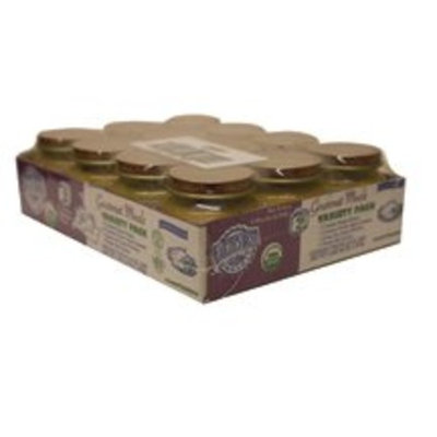 Earth's Best  Hain Earths Best Organic 2nd Gourmet Meals Variety Pack, 4-Ounce Jars (Pack of 12) ( Multi-Pack)