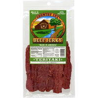 Buffalo Bills Premium Snacks Buffalo Bills 3.5oz Teriyaki Country Cut Beef Jerky Pack