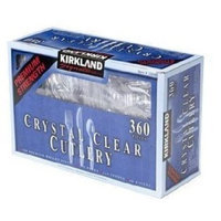 Kirkland Signature Crystal Clear Cutlery - 360 ct []