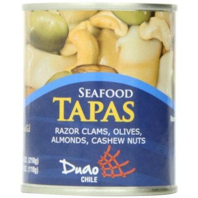 Duao Seafood Tapas Razor Clams, 7.4-Ounce (Pack of 3)