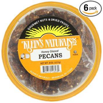 Klein's Naturals Pecans Honey Glazed Shelled