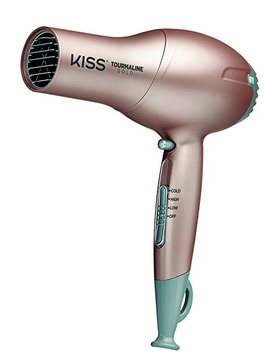 Kiss Products Tourmaline Hairdryer Gold Edition