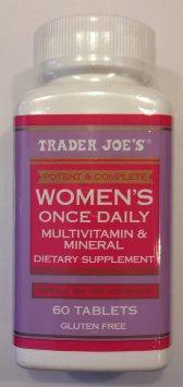 Trader Joe's Prenatal Once Daily Multivitamin