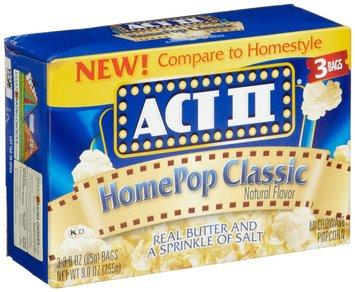 Act II Homepop Classic Popcorn