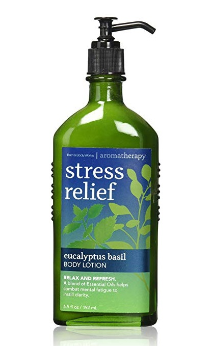 Bath & Body Works® Aromatherapy Stress Relief Eucalyptus Basil Body Lotion
