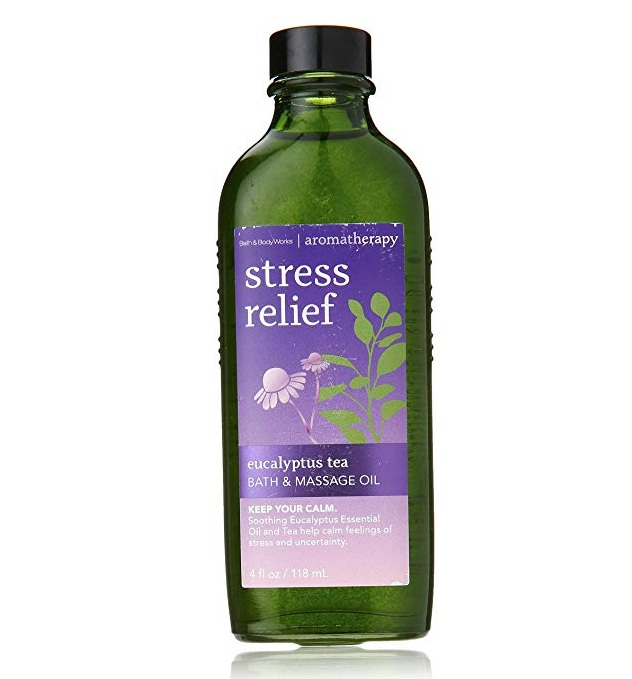 Bath & Body Works® Aromatherapy Stress Relief Eucalyptus Spearmint Bath & Massage Oil