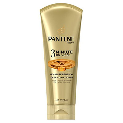 Pantene Moisture Renewal 3 Minute Miracle Deep Conditioner, 8 Oz