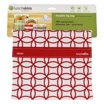 Lunchskins MultiPack of 3 Sub Bag Red Mosaic