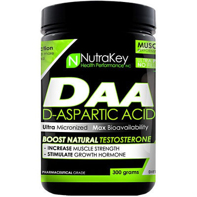 Nutrakey D-Aspartic Acid Unflavored - 300 grams