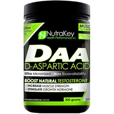 Nutrakey D-Aspartic Acid Unflavored - 300 grams