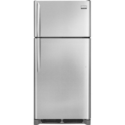 Frigidaire FGHT1846QF Gallery 18.1 Cu. Ft. Stainless Steel Top Freezer Refrigerator - Energy Star