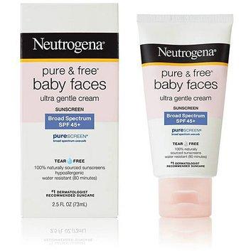 Neutrogena Pure & Free Baby Faces Ultra Gentle Sunblock SPF 50+