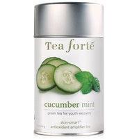 Tea Forte Skin Smart Loose Tea Canister-Cucumber Mint, 3.17 oz, 50 servings