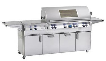 Fire Magic Echelon Diamond E1060 Natural Gas Grill With Single Side Burner On Cart