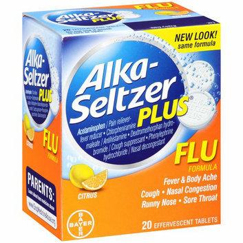 Alka-Seltzer Plus Citrus Flu Formula Tablets