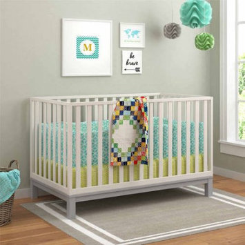 Standard Full-sized Crib White Grey by Cosco