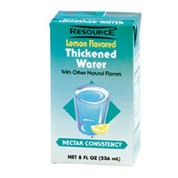 Resource Thickened Water Lemon Flavored