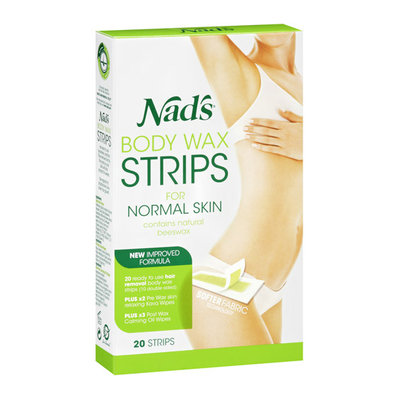 Nad's Body Wax Strips