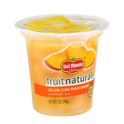 Del Monte Fruit Naturals Yellow Cling Peach Chunks