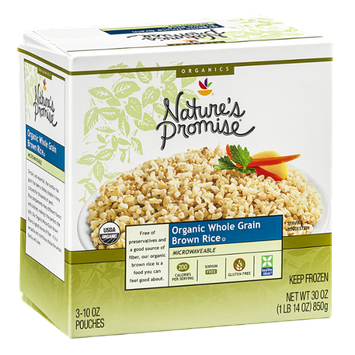 Nature's Promise Organic Whole Grain Brown Rice - 3 CT