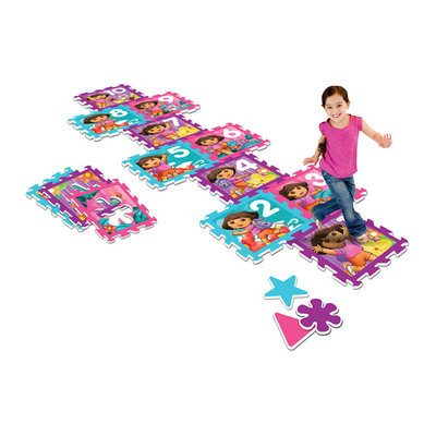 Nickelodeon Dora the Explorer 4' x 4' Activity Play Mat