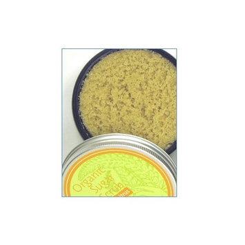 Lusa Organics Citrus Organic Sugar Scrub - All Natural Sugar Scrub and Exfoliant with Certified Organic Ingredients - Moisturizes and Polishes Skin - 4 ounces