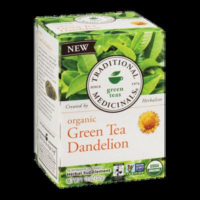 Traditional Medicinals Organic Green Tea Dandelion - 16 CT