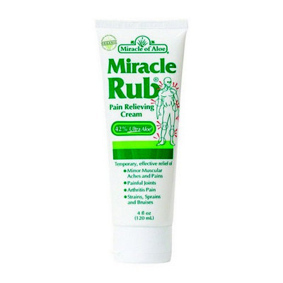 Botanic Choice Miracle Rub Pain Relieving Cream with Aloe 4 oz