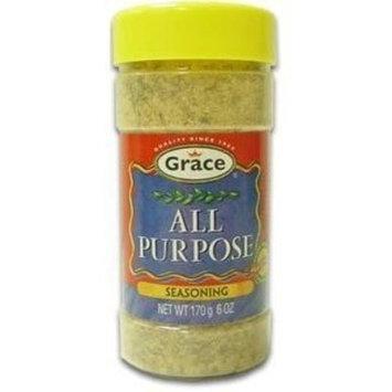Grace All Purpose Seasoning 6 Oz Pack of 2