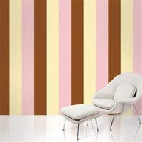 Wall Candy Arts WallCandy Arts Removable Wallpaper (Stripes Neapolitan) - Full Kit