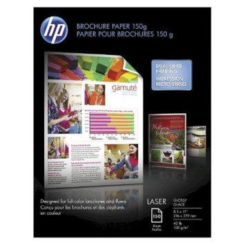 HP 8-1/2 x 11 Color Laser Brochure Paper, 97 Brightness, 40lb- White