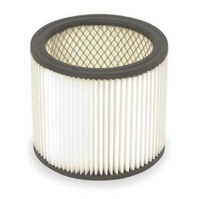 DAYTON 2W435 Filter, Dry, Cartridge Filter, Paper, 61/2