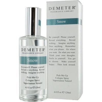 Demeter Snow Cologne Spray for Unisex, 4 Ounce