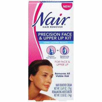 Nair Precision Face & Upper Lip Kit Hair Remover