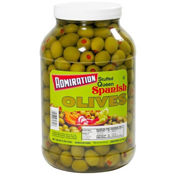 Admiration Stuffed Queen Olives - 1 Gallon