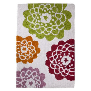 Allure Home Creation Stella Bath Rug - Pink