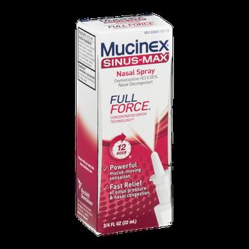 Mucinex Sinus-Max Nasal Spray Full Force