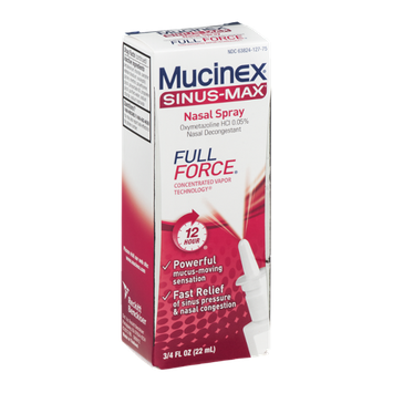 Mucinex Sinus-Max Nasal Spray Full Force
