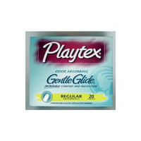 Playtex Gentle Glide Regular Tampons, 20 Count